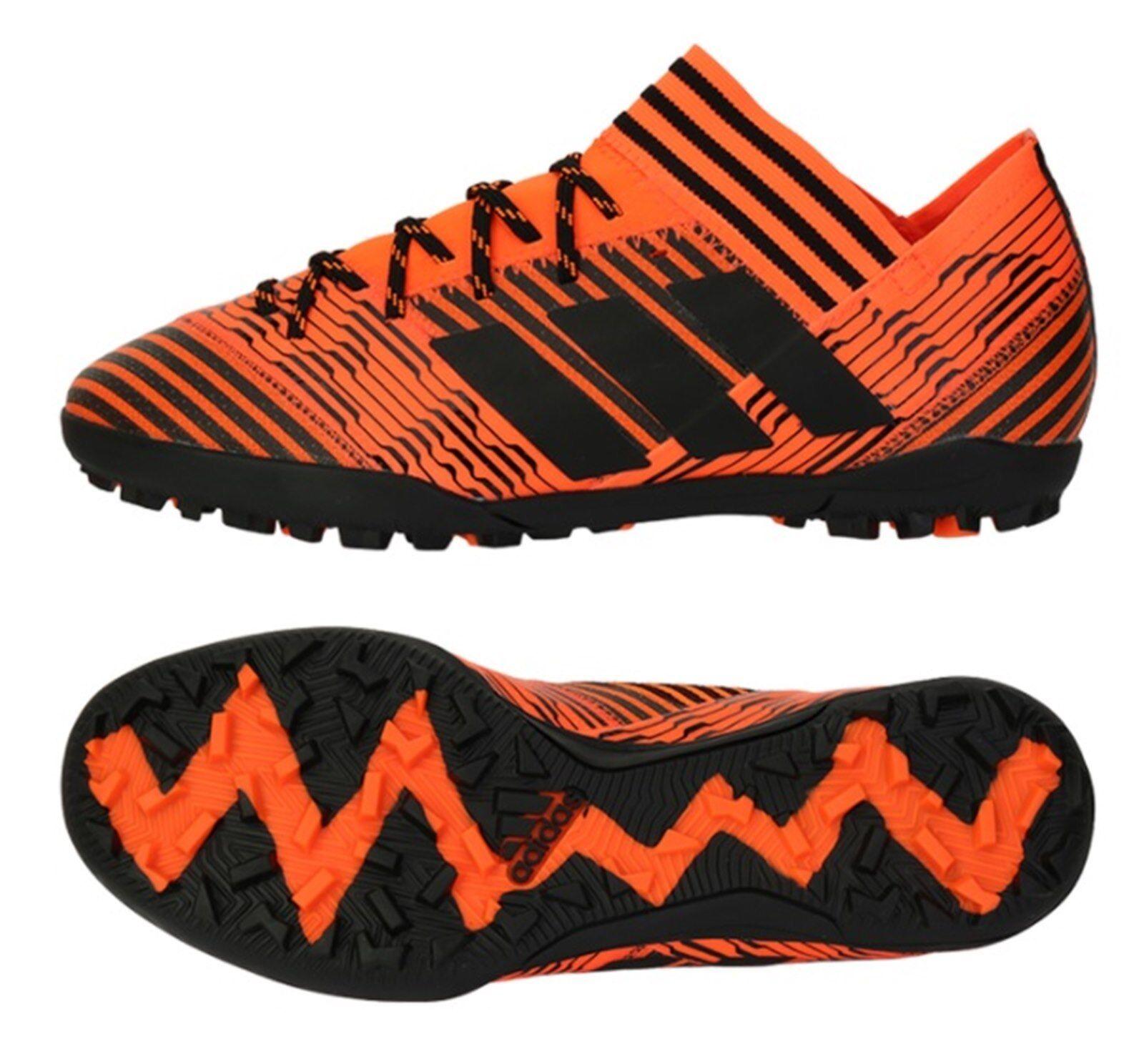 Adidas Men NEMEZIZ Tango 17.3 TF Cleats Futsal Red shoes Soccer Spike BY2827