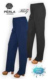 Pantalone-donna-morbido-con-elastico-taglie-comode-made-in-Italy-PERLA-OVERSIZE
