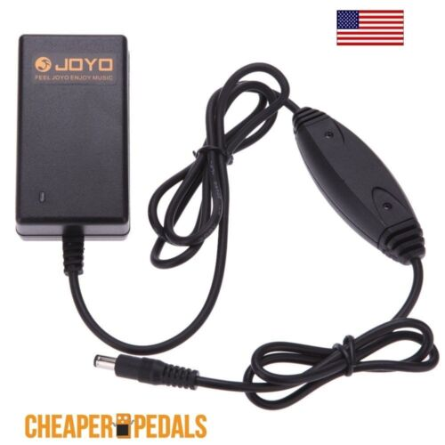 NEW JOYO JP-03 Compact Guitar Pedal Power Supply 9V 2A FREE Shipping US Adapter