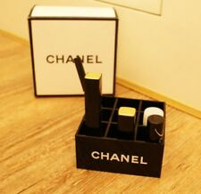 Brand New CHANEL Make Up Cosmetic Lipstick Organiser Storage VIP Gift Box