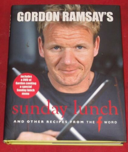 1 of 1 - GORDON RAMSAY'S SUNDAY LUNCH and other recipes from the F word ~ INCLUDES DVD