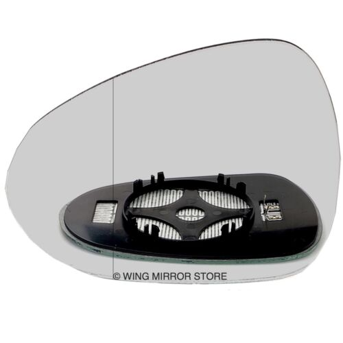 Left side for Seat Exeo 08-13 Wide Angle heated wing mirror glass clip on