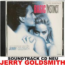 Basic Instinct - Jerry Goldsmith - Varèse Sarabande Soundtrack CD NEU