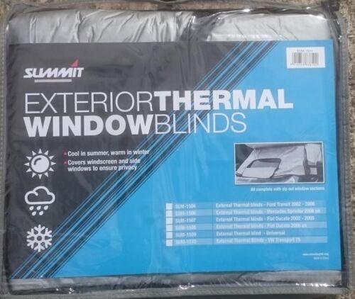 Extérieur Parasol Thermal Stores Pour VW T4 Camper Pare-brise vitre latérale couvre