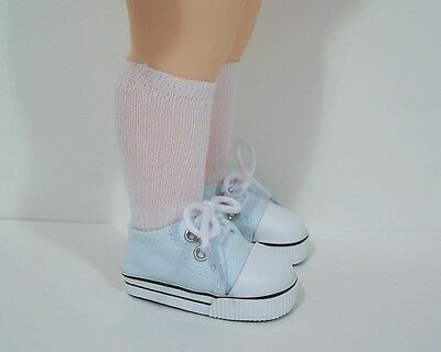 """DK PINK Canvas Tennis Doll Shoes For 16/"""" Disney Animators Collection Debs"""