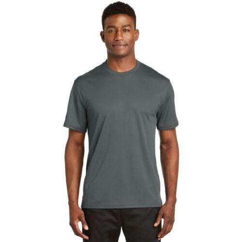 Sport-Tek Dri-Mesh Short Sleeve T-Shirt Double Layer Breathable Workout Tee K468