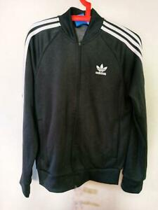 Details about adidas Originals Superstar Track Jacket In Black small size