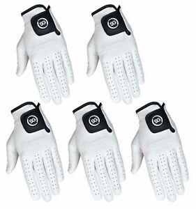 SG-Men-white-golf-gloves-100-Cabretta-Leather-golf-gloves-multi-packs-available