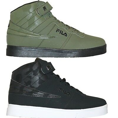 Homme FILA VULC 13 MP Mid Plus Camouflage Rétro Basketball Baskets Chaussures   eBay