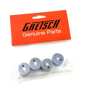 "(4) Genuine Gretsch Chrome Jeweled Arrow 1/4"" Shaft Guitar Knobs 922-1027-000"