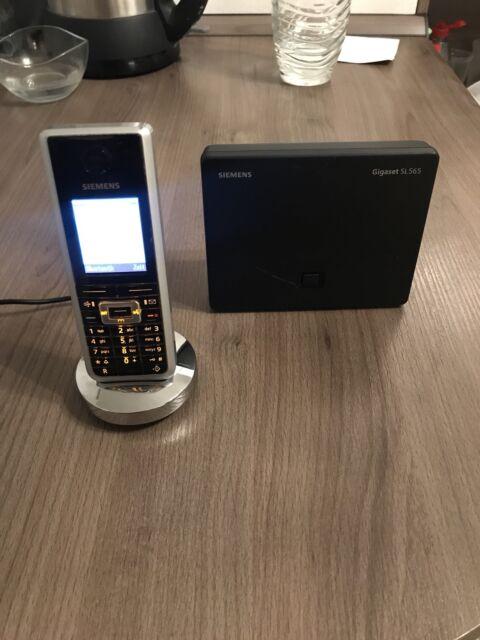 SIEMENS - Mobiltelefon Gigaset SL 565 – FULLSET Bluetooth