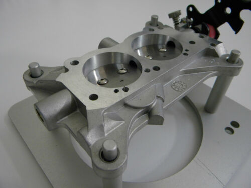 Holley QFT CCS 2 BBL 4412 80583-1 1.750 T//P Racing Circle Track Base Plate Assy