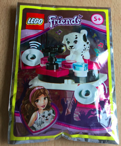 LEGO FIGURINE POLYBAG LIMITED SERIE FRIENDS LE CHIEN D.J MUSIC DALMATIEN