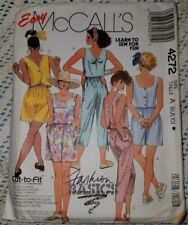 16 Capri Pants and Shorts 14 McCall/'s 3257 Misses/' Tops 18   Sewing Pattern