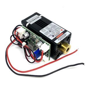 Fokussierbares 445nm 450nm 100mW Punkt-Laserdiodenmodul mit Adapter