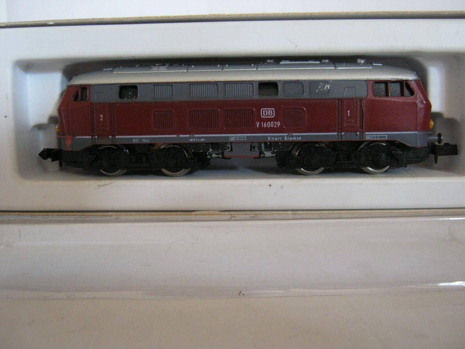 Arnold N 0205 Diesel-Lok btrnr V 160029 DB rosso (rg bh 32s5)