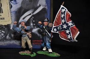 Britains 17013 Save The Colors Jeu de figurine de soldat en métal de la guerre de Sécession de la Guerre de l'Amérique 36881170136