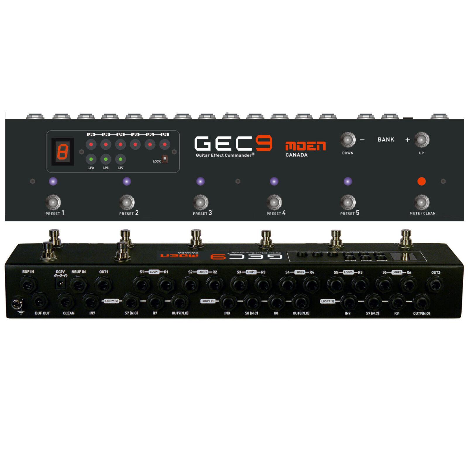 Moen Kanada GEC9 V2 Neue Version Pedal Switcher Routing System mit Netzteil