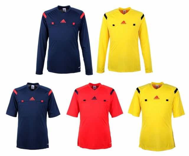 reputable site 976fd a6ae0 Adidas Referee 14 Jersey G77215 Soccer Football S/S L/S Shirt Top Uniform