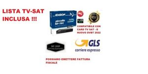 EDISION PICCOLLO S2+T2 HEVC 265 COMBO FULL HD LISTA TV SAT INCLUSA