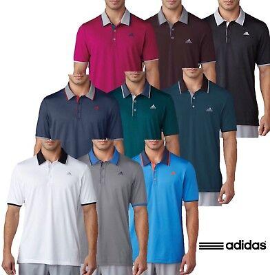 Sorprendido Química nacido  Adidas Climacool Performance Logo Chest Golf Polo Shirt   eBay