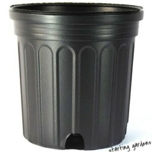 Image Is Loading 3 Gallon Nursery Pot Qty 20 Plastic Container