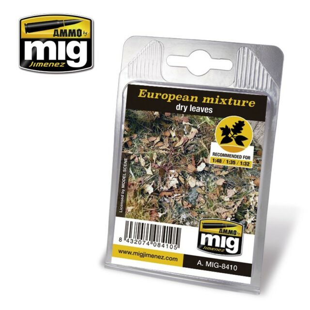 Ammo of Mig A.MIG-8410 - European Mixture Dry Leaves 1/48 1/35 1/32