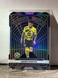 2020-21 Panini Obsidian Jadon Sancho Tunnel Vision #99/99 Borussia Dortmund 3