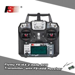 Flysky-FS-i6X-2-4GHz-6CH-AFHDS-2A-RC-Transmitter-with-FS-iA6B-Receiver-for-U1I2
