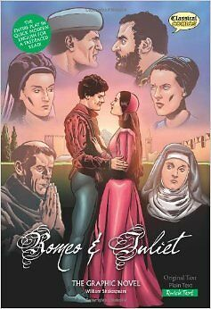 The Graphic Novel  New Paperback Book John McDonal Romeo and Juliet Quick Text