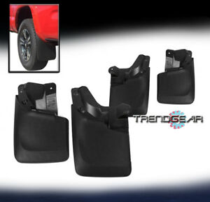 Fit 16 17 18 Toyota Tacoma Mud Flaps Splash Guards Mudflaps  Front Rear 4 pcs