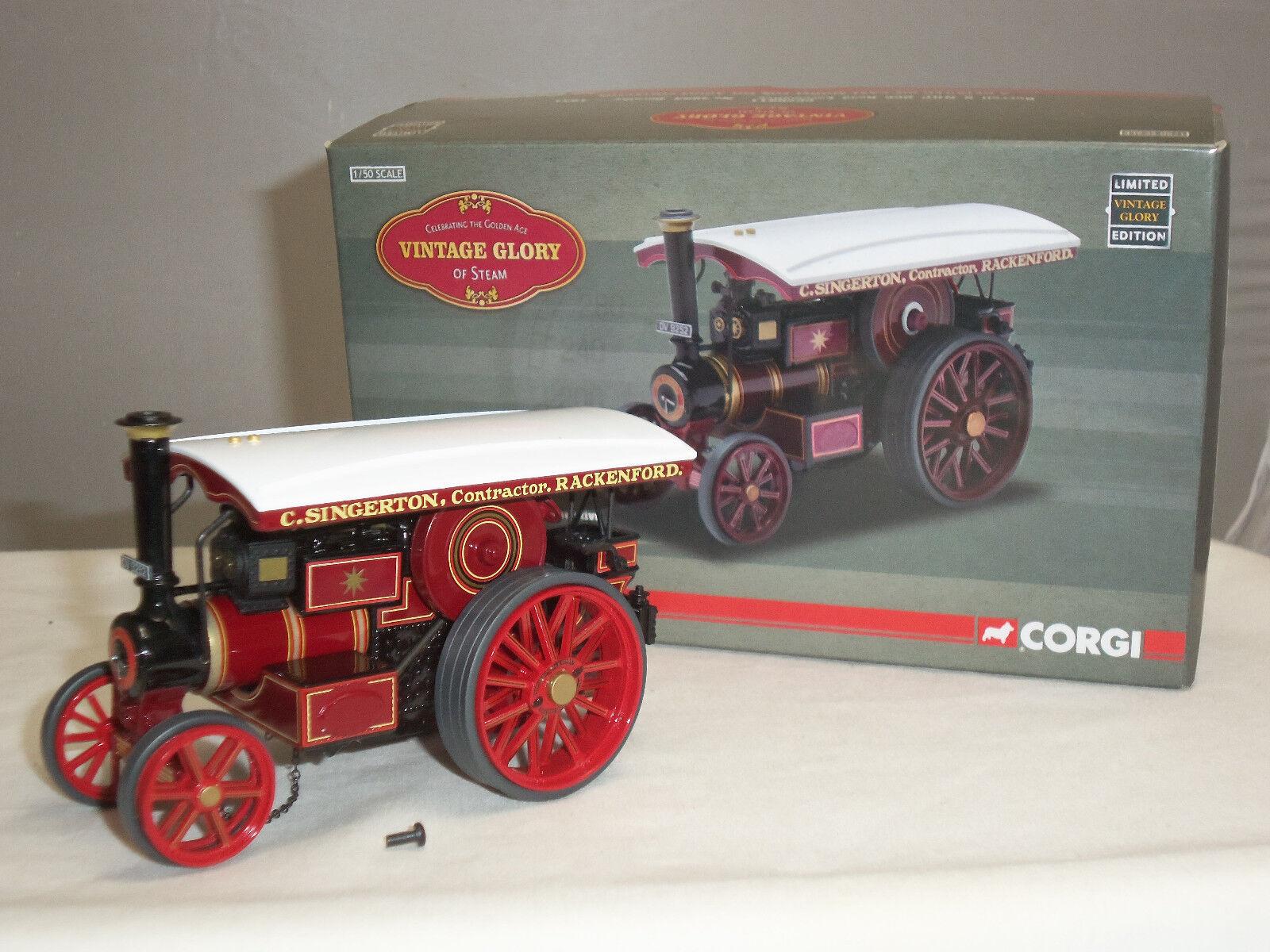 Corgi CC20511 Burrell Modelo Diecast motor de vapor locomotora de carretera Dorossohy