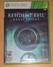 Resident Evil Revelations (Xbox 360) BRAND NEW Capcom Survival Horror Video Game