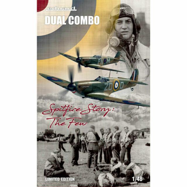 Eduard KIT 1:48 LTD Edt-LA STORIA Spitfire RRP £ 59.99