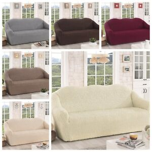 Com Stretch Sofa Cover Sofahusse 1er 2er Od 3er Couch Cover 6