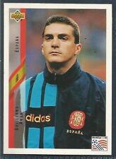 UPPER DECK WORLD CUP USA 1994- #153-ESPANA/SPAIN-GUILLERMO AMOR
