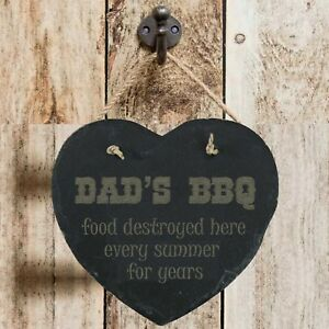 Personalised-Birthday-Home-Gift-Personalised-Dad-039-s-BBQ-Slate-Hanging-Sign-Plaque