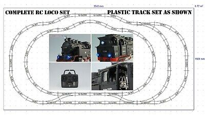 Cordiale Brand New Rc Loco And G Scale 45mm Gauge Rail Plastic Railway Track Layout Train
