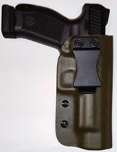 Details about CANIK TP9SFX / TP9SFL - Kydex - IWB - Inside Waistband -  Holster (OD GREEN)
