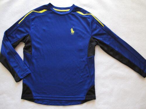 NWT Ralph Lauren Boy/'s Active Wear Sport  Long Sleeve T-Shirt *NEW*