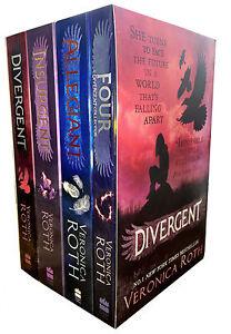 Veronica-Roth-Four-Divergent-ALLEGIANT-Insurgent-4-Books-Collection-Pack-Box-Set