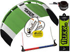 HQ Fluxx 1.8 Trainer Kite Kiteboarding Foil Power Kitesurf + Safety Wrist Leash