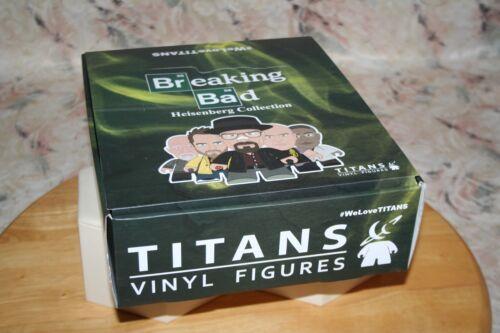 BREAKING BAD HEISENBERG COLLECTION TITANS VINYL MINI FIGURES 20 BLIND BOXES NEW!