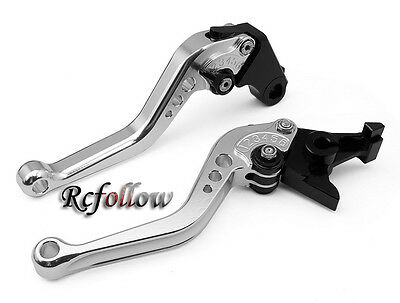 Motorcycle Short Silver CNC Brake Clutch Lever For Yamaha YZF R1 1999 2000 2001
