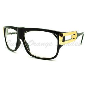 Best Metal Frame Glasses : Square Rectangular Clear Lens Glasses Flat Top Metal ...