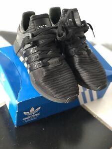 sports shoes 59997 b1701 Details about ADIDAS Originals EQT Support ADV Men's Shoes Size 8 Triple  Black CP8928