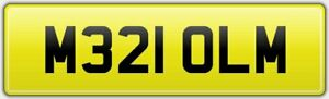 MALCOLM-QUALITY-PERSONALISED-CAR-NUMBER-PLATE-M321-OLM-FEES-PAID-MALCOM-MALC-MAL