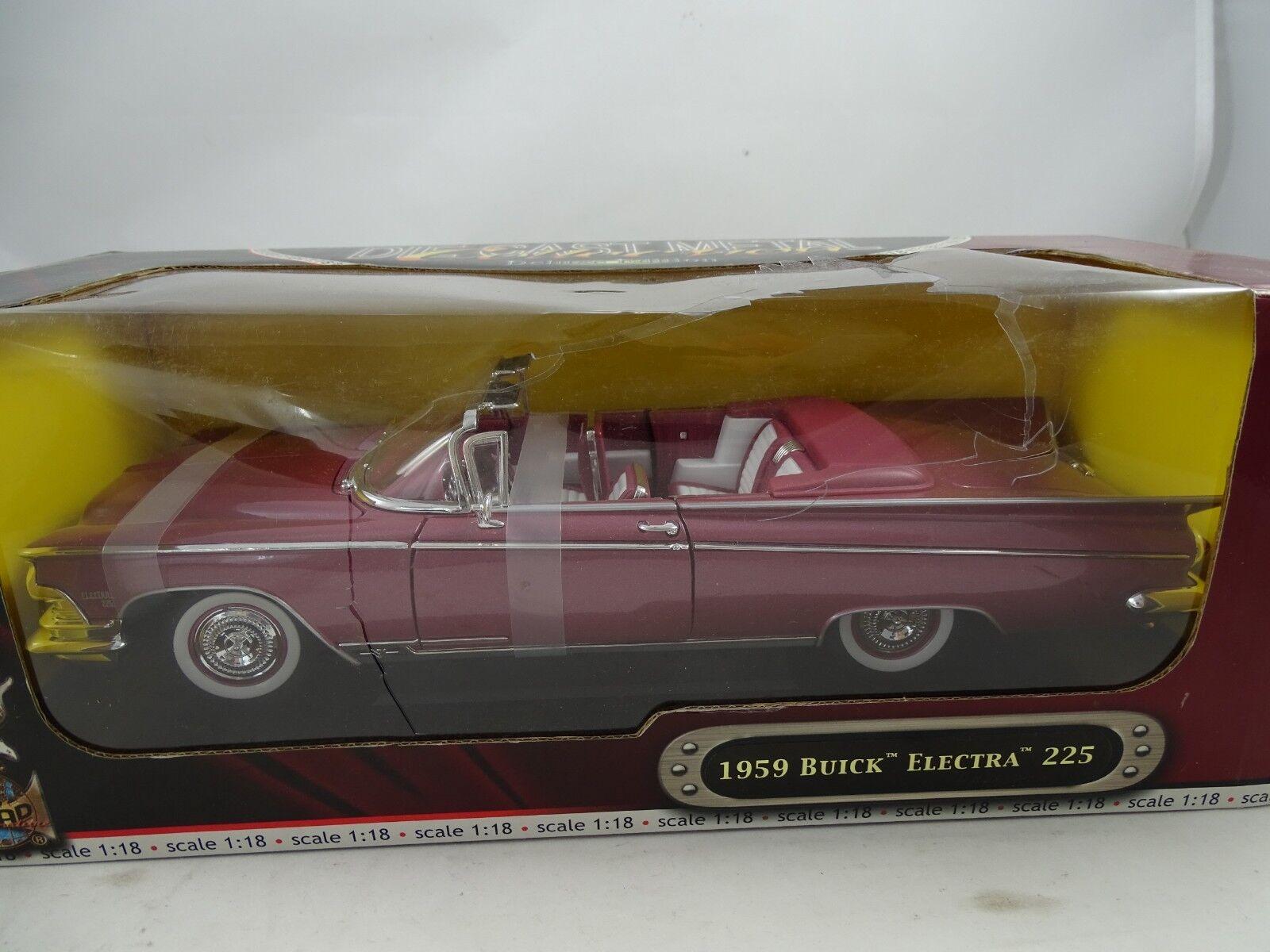 1 18 Road Signature Buick Electra 225 viola - Rareza