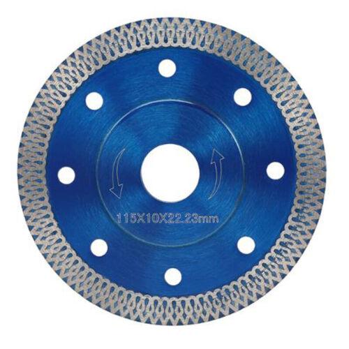 Thin Mesh Diamond Saw Blade Porcelain Granite Tile 4 Inch Cutter Tool USA
