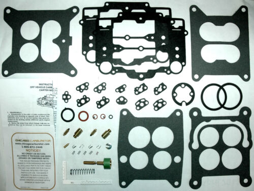 1961 67  CARB KIT BUICK  CARTER 4 BARREL AFBS NEW DOES 28 DIFF CARBS 4 ENGINES
